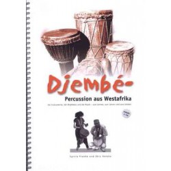Djembe-Percussion Buch und CD