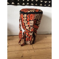 Djembetasche 32 cm red earth