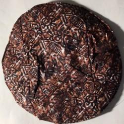 Fellschoner 36 cm braun