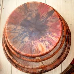 Schamanentrommel batik 46 cm