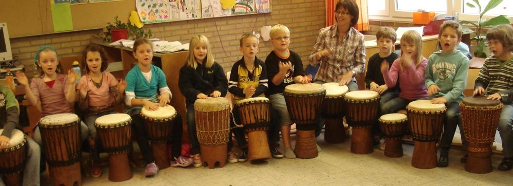 Kinder-Trommelprojekt