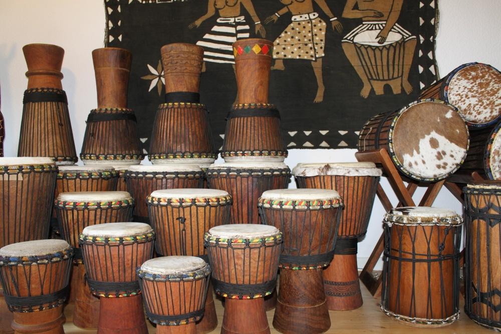 Djembe Trommeln von SanSanne-Mango