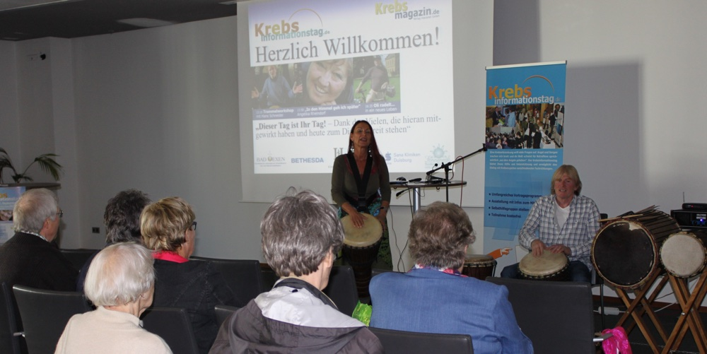 Krebs Informationstag Duisburg