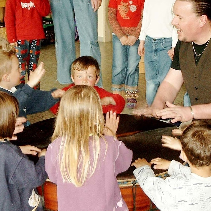 Trommeln im Kindergarten